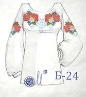 Комплект для создания сорочки бисером Б-24