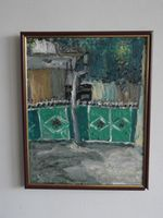 Старый Кишинев (ул. Щусева), 39x31 см., холст, масло