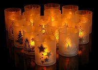 купить Подсвечник пластмассовый со свечей LED в Кишинёве