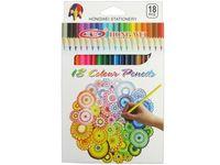 Набор карандашей цветных 18шт HW