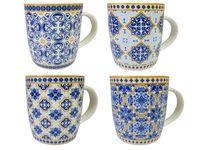 Чашка с голубым орнаментом, 350ml