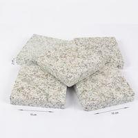 Гранит Леопард Белый термo-обработанный 15 x 15 x 3 см