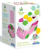Clementoni Baby Minnie Shape Sorter Bus (14933)