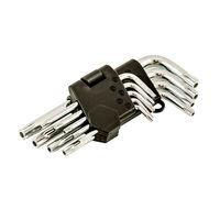 купить Набор шестиграннных ключейTORX T10-T50 (9 шт) (1120) в Кишинёве