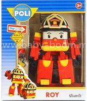 Robocar Poli 83049 Игрушка-трансформер Рой (7,5 см.)