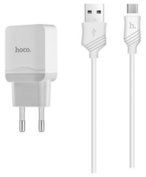 Зарядное устройство Hoco C22A + Micro cable