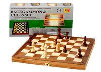 купить Шахматы  деревяные 3 в1  39х39 см в Кишинёве