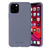 Чехол ТПУ Mercury iPhone 11 Pro , Lavender gray