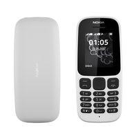 Nokia 105 2017 Dual Sim, White