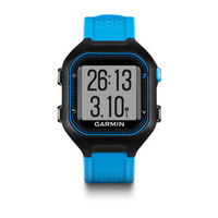 GARMIN Forerunner 25 - Large – Black & Blue, 128x128, GPS