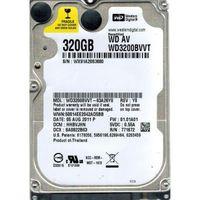 """2.5"""" HDD Western Digital Scorpio Blue WD3200BVVT, 320GB 5400rpm 8MB"""
