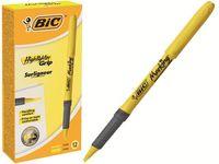 купить Маркер текстовыделитель Bic Brite Liner Grip, желтый (1/12) в Кишинёве