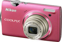 Nikon CoolPix S5100 (Official Warranty), Pink
