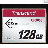 """128GB CompactFlash Card Transcend """"TS128GCFX600"""""""