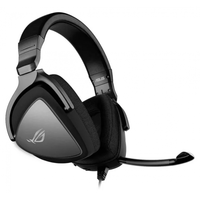 Gaming Headset Asus ROG Delta Core, 50mm driver, 32 Ohm, 20-40000Hz, 346g, 3.5mm, Black