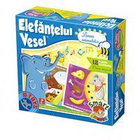 Настольная игра Весёлый Слонёнок - В мире животных 71910