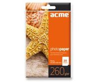 ACME Photo Paper A4 260 g/m2 20 pack Glossy