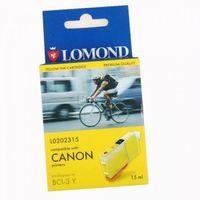 Inkjet-Cartridge E21008, For CANON BJC 3000/6000 yellow