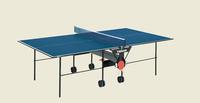 Теннисный стол 19 мм Indoor Tibhar 1000 blue (5387)