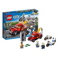 Lego City Конструктор Побег на буксировщике