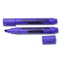 Marker Centropen text 1-4,6 mm violet în formă de pană