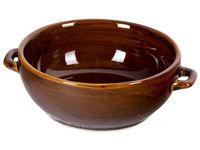 Vas de argila cu manere 0.5l, D14cm