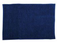 Коврик для ванной комнаты 60X90cm Chenille синий, микрофибр