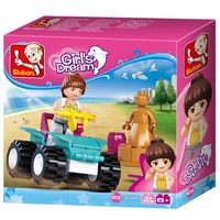 Конструктор GIRLS IS DREAM Quad bike 54pcs В0599
