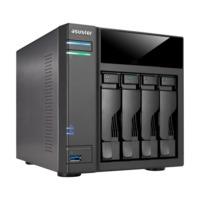 "ASUSTOR AS6104T, 3.5"" or 2.5"" SATA3 CPU 2.16GHz Ram 2GB USB3.0"