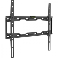 "Wall Mount Barkan ''E302+'' Black 19"" - 65"" Fixed, max.50kg, VESA mm: up to 400x400mm"