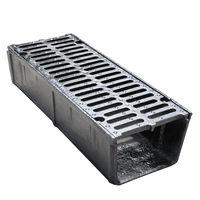 купить Решетка канализационная с лотком чугунная 750 х 300 x 190мм 41кг EN124 D400 в Кишинёве