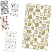 POL-MAK Бумага для упаковки POL-MAK 99.5x68.5см New Year