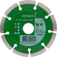 Диск алмазный d115x22,2x7mm UNIVERSAL DS HITACHI-HIKOKI