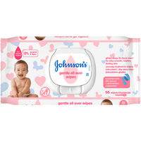 Влажные салфетки детские Johnson's Baby Gentle Care, 64 шт.