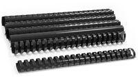 ARGO Пружина пластиковая ARGO A4/38мм, 10 штук, овал черная