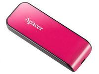 16 ГБ USB 2.0 Флеш-накопитель Apacer AH334, Black/Rose Pink (AP16GAH334P-1)