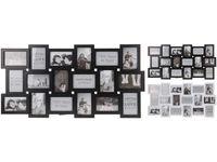 купить Фоторамка - коллаж 18фото (10Х15cm) белая/черная в Кишинёве