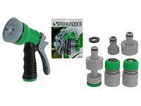 купить Набор коннекторов с распылителем 7шт, зеленые в Кишинёве