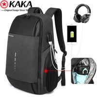 Рюкзак (KAKA 2215-10) для мужчин с USB портом