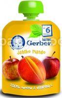 Gerber Пюре «Яблоко-манго» 90 гр. (6+)