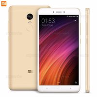 "5.5"" Xiaomi RedMi Note 4X 32GB Gold 3GB RAM, Qualcomm Snapdragon 625 Octa-core 2.0GHz, Adreno 506, DualSIM, 5.5"" 1080x1920 IPS 401 ppi, microSD, 13MP/5MP, LED flash, 4100mAh, FM-radio, WiFi-AC, BT4.2, LTE, Android 6.0 (MIUI8), Infrared port, Fingerprint"
