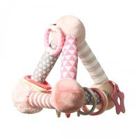 Развивающая игрушка Babyono Pyramid rose