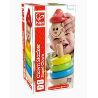 Hape Деревянная игрушка-пирамидка Kлоун