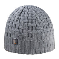 Шапка Kama Urban Beanie, 50% MW / 50% A, inside Tecnopile fleece band, A112