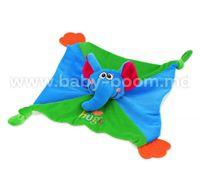 Baby Mix EF-TE-9898A-22 Игровой платок с прорезавательем слоник