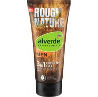 Гель для душа DM Alverde MEN Duschgel Rough Nature, 200 мл