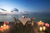 Романтический ужин на озере