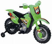 Baby Mix UR-ZP3999B Мотоцикл на аккумуляторе зелёный