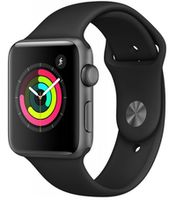Apple Watch 3 42mm/Space Gray Aluminium, MTF32 GPS