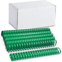 ARGO Пружина пластиковая ARGO A4/45мм, 50 штук, овал зеленая
